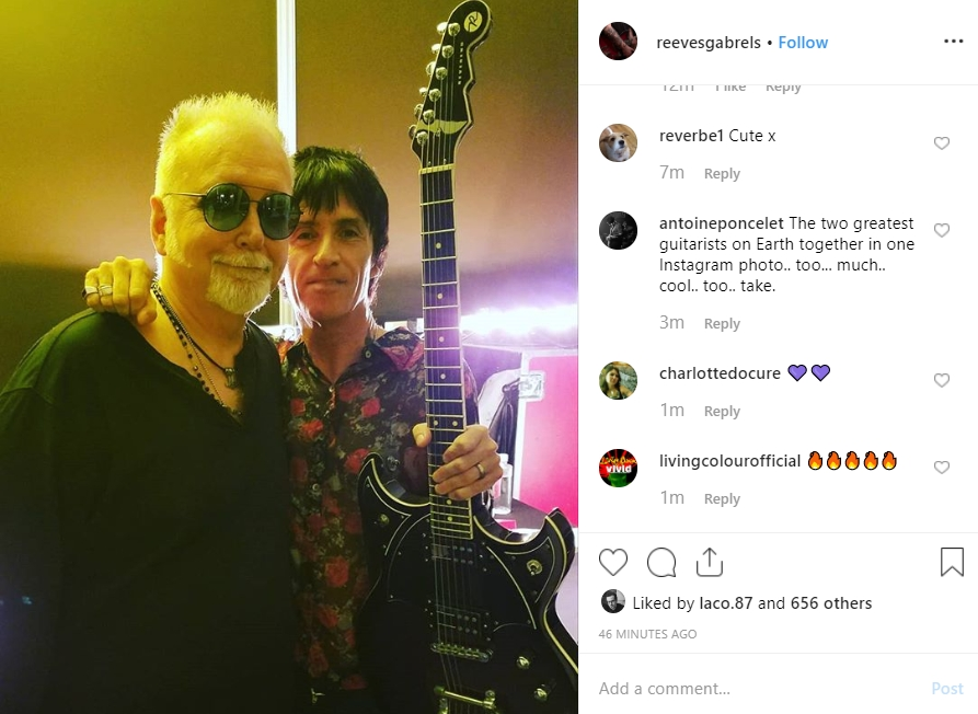 Reeves Gabrels & Johnny Marr